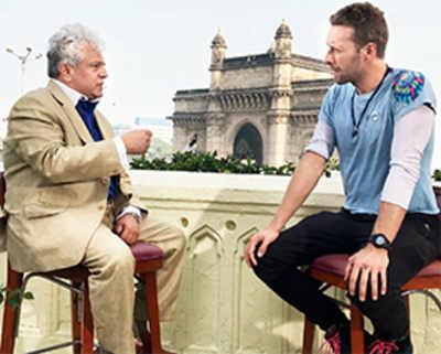The sheer magic of meeting Chris Martin