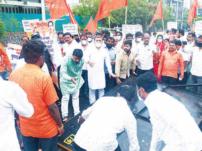Shiv Sena flays BJP's date, opens flyover beforehand