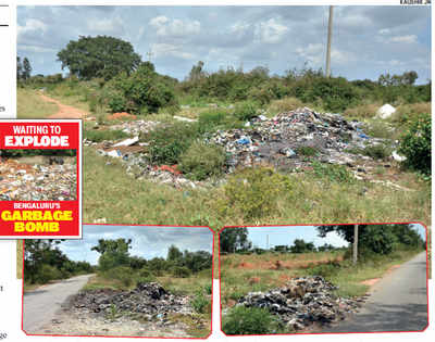 Curse of Mandur: City's waste gets dumped on the outskirts at night