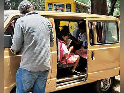 Bikes, autos ferrying school kids face action as transport dept deploys special squads