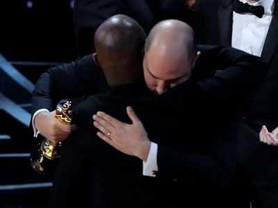 Oscars 2017: Fiasco shocks stars as first La La Land, then Moonlight, declared Best Picture winner