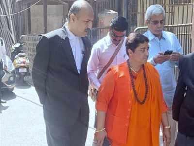 Malegaon blast case: BJP MP Pragya Singh Thakur appears before special court in Mumbai