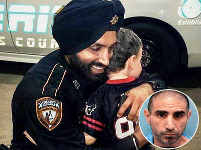 First Sikh Texas cop shot dead in 'ambush'