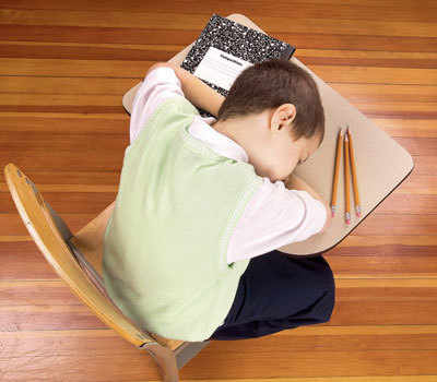 8 out of 10 young teens suffer from sleep deprivation