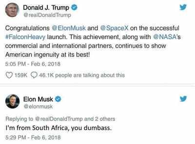 Fake news buster: Elon Musk Called Donald Trump a 'Dumbass'?