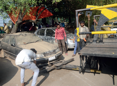 BM Impact: Operation Khataara begins in Indiranagar