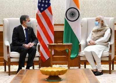 Antony Blinken in India live: PM Modi meets US secretary of state