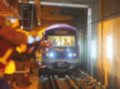 Soon, metro trial run on Cricket stadium-Magadi Road line