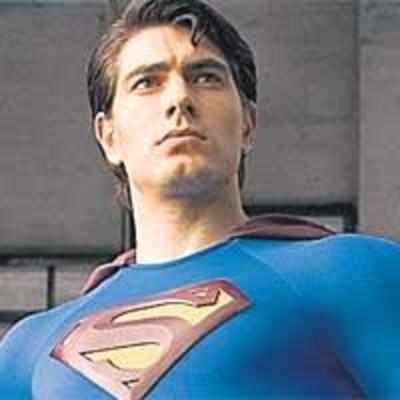 Superman who spits!