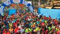 44,000 runners take part in Mumbai Marathon