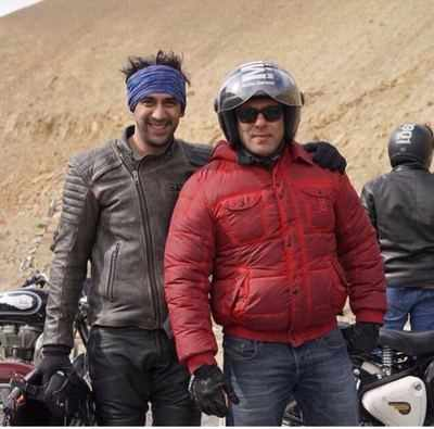 Amit Sadh not a part of Race 3, shares his experience of bike riding with Salman Khan in Leh