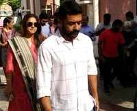 Chennai: Actor Surya casts his vote with wife Jyothika