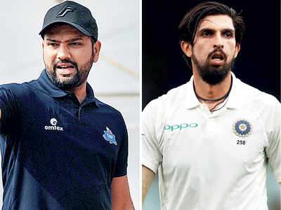 India's tour of Australia | Rohit and Ishant unlikely for Test series