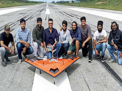 ADA-IISc's remotely piloted aircraft successfully test flown