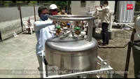 Pune: Oxygen plant set by PMC at Naidu hospital for Covid patients