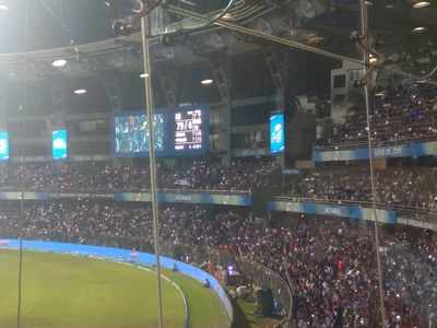 IPL 2018 Photos: When floodlights went dim at Wankhede stadium during Mumbai Indians vs Kings XI Punjab match