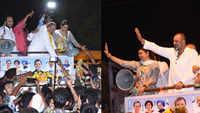 Lok Sabha polls: Sanjay Dutt campaigns for sister Priya Dutt in Mumbai