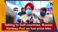 Talking to Gulf countries, Russia: Hardeep Puri on fuel price hike
