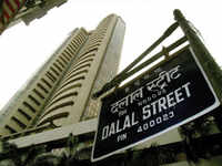 Sensex gives up gains, ends 45 points down