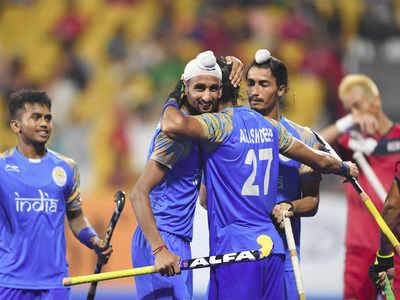 Asian Games: India beat Korea 5-3 to enter semis in men's hockey