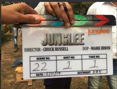 Vidyut Jammwal's Junglee shoot begins, to release on October 19