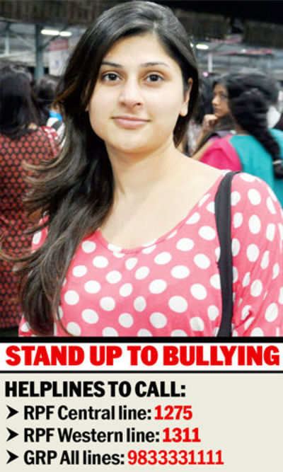 'I stood up to train bullies; so can you'