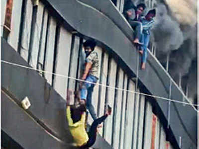 Surat fire: He risked his life to rescue seven students