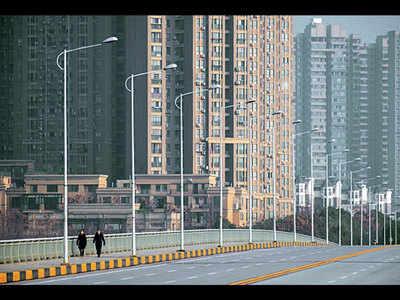 Virus shutdown clears air pollution over China