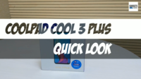 Coolpad Cool 3 Plus quick look