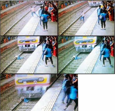 Horrific peak-hr suicide caught on camera