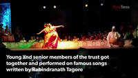 Along with its anniversary, Surajhankar celebrates Rabindranath Tagore's birthday