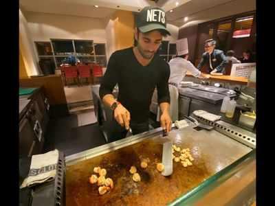 Watch: Pulkit Samrat tosses shrimps like a pro!