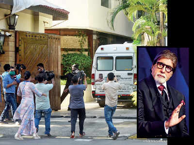 Amitabh Bachchan under home quarantine; Abhishek Bachchan still Covid-19 positive
