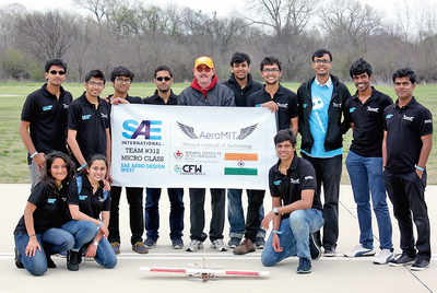 Manipal is up there in aerospace design