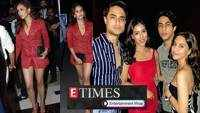 Mira Rajput looks ravishing in red short pantsuit; Shah Rukh Khan's son Aryan Khan's party pictures are breaking the internet, and more…