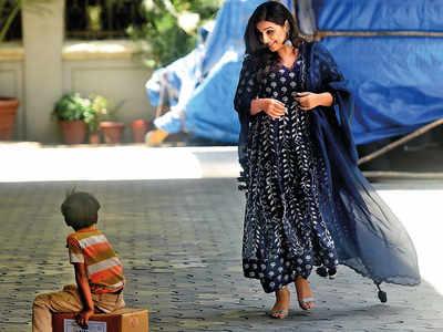 Spotted: Vidya Balan in Andheri