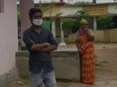 COVID-19 scare: Disallowed in village, mother and son take shelter at bus station