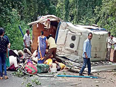 7 Karnataka pilgrims killed in Andhra