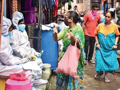 Dharavi sees a spike in cases after 2 months