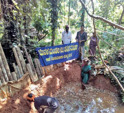Karnataka: DK hamlets to revive check dams