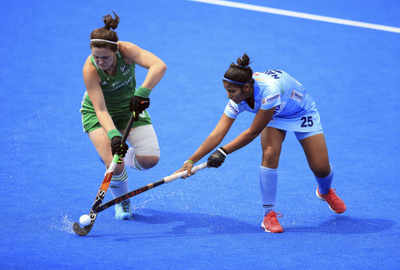 Women's Hockey World Cup: India hold US, qualify for quarters playoffs