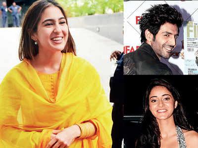 Is Kartik Aaryan trying to make Sara Ali Khan jealous with Ananya Panday?