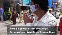 Avenue Road in Bengaluru witnesses festive rush ahead of Dasara