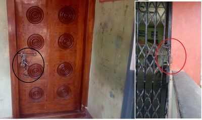 Andhra Pradesh: Police lock bank with handcuffs