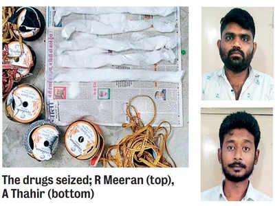 NCB busts Oz-linked drug racket, nabs two