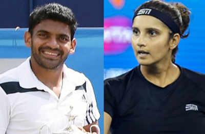 Tennis: Divij Sharan breaks into top 50 of ATP rankings, Sania Mirza no longer in top-10 of WTA rankings