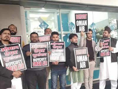 Passengers stage protest, threaten to boycott Oman Air