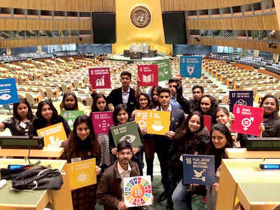 10 Bengaluru students speak at United Nations on myriad issues