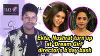Ekta Kapoor, Nushrat Bharucha turn up at 'Dream Girl' director's birthday bash