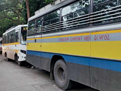 Depots empty, school buses still clog roads